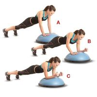 Dynamic is the perfect way to describe this upper-body blast that works your triceps, chest, shoulders, and core.