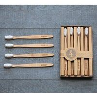 You would look like such an expert host if you keep these bamboo toothbrushes with the word 'Guest' on the handles.