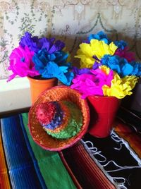 images of mexican decor | The Posh Pixie: Mexican Party Table Decorations