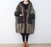 Women's Winter coat, Cotton oversized Winter clothes, Comfortable maternity padded coat, Long Hooded cloak coat Message Seller