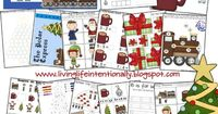 FREE Polar Express Worksheets for Kids! Kids will love practicing basic skills in math and language arts when they are themed to a favorite Christmas Book and movie - The Polar Express! These worksheets are aimed at Toddler, Preschool, Kindergarten, and 1...