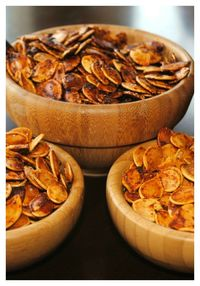 Roasted Pumpkin Seeds- easy recipe with different flavors!!