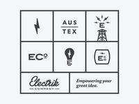 Working on the Electrik Co. brand buildout and some supporting elements. Been fun exploring where we want to take this brand. Thoughts? Suggestions?