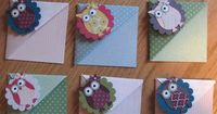 Owl bookmarks. Has a link for PDF tutorial