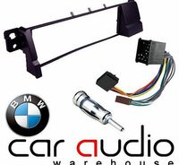 T1 Audio BMW 3 Series E46 1998 - 2002 - Car Stereo Radio Fascia Facia Panel ISO (Round Pins) Aerial Kit If you have bought a new car stereo that you want to fit into your vehicle then this is what you need. Once fitted it allows easy installation ...