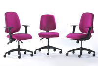 Quality fabric office chairs providing excellent value for money. Supplied across the UK by Diamond Office Furniture, Harlow, Essex
