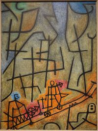 Conquest of the Mountain by Paul Klee, 1939. Professional Artist is the foremost business magazine for visual artists. Visit ProfessionalArtistMag.com.- www.professionalartistmag.com