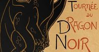 """""""How to Train Your Dragon"""" parody on the famous French """"Le Chat Noir"""" poster by Theophile Steinlen Featuring Toothless the Night Fury Dragon! Size: 11x17'' Printed on: Glossy card stock paper. Artist signature upon request! *Ac..."""