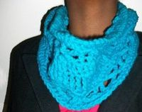 Crossed Cowl - Cowls are fun cool weather accessories, and there's just something about bulky yarn that makes them even more fun. This pattern combines the openness of tall and crossed stitches with the warmth of bulky yarn for a great little cowl. ...