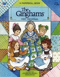 The Ginghams Paper Dolls - I had this book. I loved playing with them. If you click through to the site you can print the whole book!