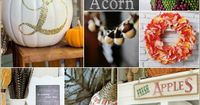 See 10 Gorgeous Fall Decorating Ideas that will wrap your home with warmth, color and texture of autumn's beauty! Gorgeous inspiration!