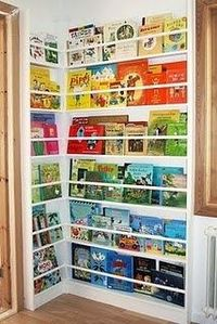 Another cool way to display books