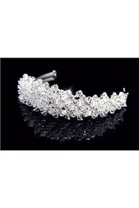 Pretty Clear Crystal Hair Jewelry & Wedding Headpieces & Tiaras