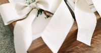 #erichmcvey photography presentation box with #linen ribbon by #makeandstow