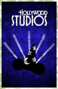 Disney World art by Justin King - Hollywood Studios (my fave!!)