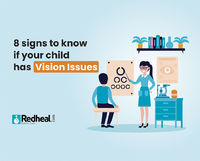 Figuring out if your child requires glasses or if he/she is having vision issues can be tricky. Here are 8 telltale signs to detect them. https://www.redheal.com/blog/eye/8-signs-to-know-if-your-child-has-vision-issues/
