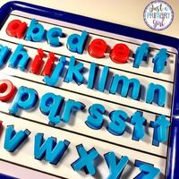 Hi friends I have had so many friends ask me to share my Magnetic Letter Organization with you! This post contains affiliate links for ...