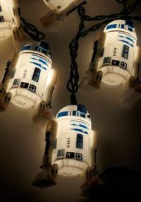 I might buy these for our Christmas tree this year! R2 Afraid of the Dark? Lights, #ModCloth