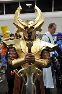 Heimdall Cosplay SDCC 2012 by AaronBerkovich, via Flickr