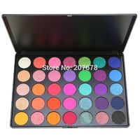 35 Color Eyeshadow Palette Silky Powder Professional Make up Pallete Product Cosmetics Smoky/Warm Makeup Eye Shadow 35E $13.08