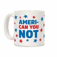 �œ� Handcrafted in USA! �œ� Support American Artisans Ameri-Can You Not Ceramic Coffee Mug $14.99