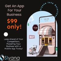 Get an App For Your Business For just $99 Only!  Mobile Apps are imperative for successful businesses. In just $99, get an app for your business and increase your sales & customer engagement .