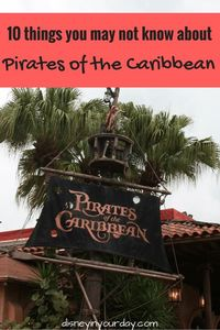 Even if you're a big Disney fan, there may be things you may not know about Pirates of the Caribbean - check out all the fun facts and trivia here!