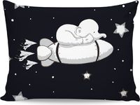 ROB Baby Elephant Sleeping Rocket Pillowcase $16.00