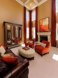 Get expert tips and ideas for staging your home for sale during the fall season from HGTV.