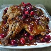 """Cranberry BBQ Chicken 