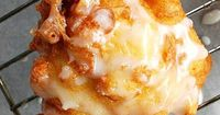 Delicious Fresh Peach Fritters - Bunny's Warm Oven