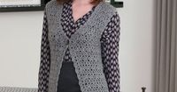 Styled to Work Vest - pattern is with UK directions so be sure to adjust.