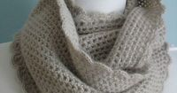 Love this delicate cowl. Free crochet pattern!.