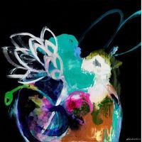 Ali McNabney-Stevens Series 4. Protea and Blue Bowl Print