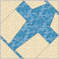 airplane quilt patterns free printable | ALL STITCHES - PLANE PAPER PIECING QUILT BLOCK PATTERN .PDF -013A