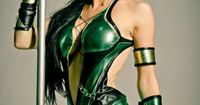 Cosplayer: Kristen Hughey Cosplay Character: Jade from Mortal Kombat 9