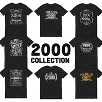 2000 Birthday Gift, Vintage Born in 2000, 20th Birthday shirt, Made in 2000 T-shirt, Birthday Shirt gift for 20 years old - 2000 Collection $19.99