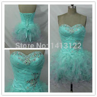 Good Quality New Design Free Shipping Beading Chiffon Evening Dress