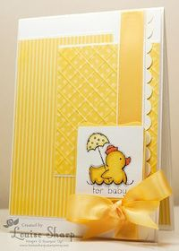 Stampin' Up! Baby Card by Louise Sharp: Easy Events