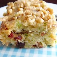 "Zucchini-Coconut Cookies | ""Moist, spicy, and nutty, these bars are healthy snack as well as a treat."""