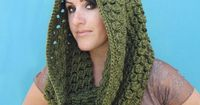New Crochet Pattern: Pinecone Cowl & Infinity Scarf | Gleeful Things