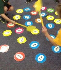 Another activity that always proves popular is Sight Word Swat. Great one for active learners.