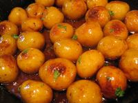 Sugar-Browned Potatoes Recipe