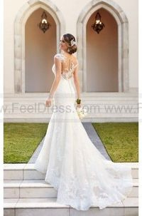 Stella York Tulle Over Organza Fit And Flare Wedding Dress Style 6269