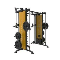 Grab online Smith Machine With Cable Crossover at the best cost in china at NtaiFitness. https://www.fitness-china.com/smith-machine-with-cable-crossover-occupied-9053