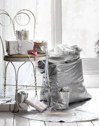 Silver Christmas Decorating