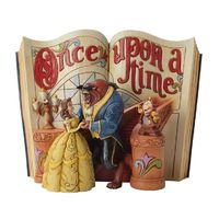 Amazon.com - Enesco Disney Traditions by Jim Shore Beauty and The Beast Storybook Figurine, 6-Inch - Collectible Figurines