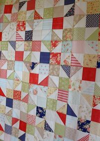 Moda Bake Shop: Avalon Scrappy Summer Quilt