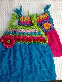 Flower Power Baby and Toddler Dress pattern by Part Pixy