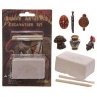Dig it out kits are a great way for kids to learn while having fun and making a mess. Each kit comes with everything you need to find the treasure inside. .  The block is made from gypsum and plaster so is safe for kids to dig in and the brush and tool ...